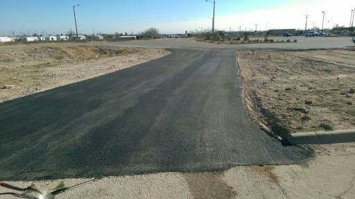 hoa roadways getting a new sealcoating